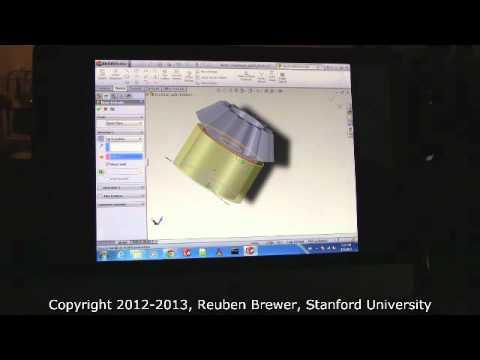 CS235: Applied Robot Design, Solidworks Training Session 1