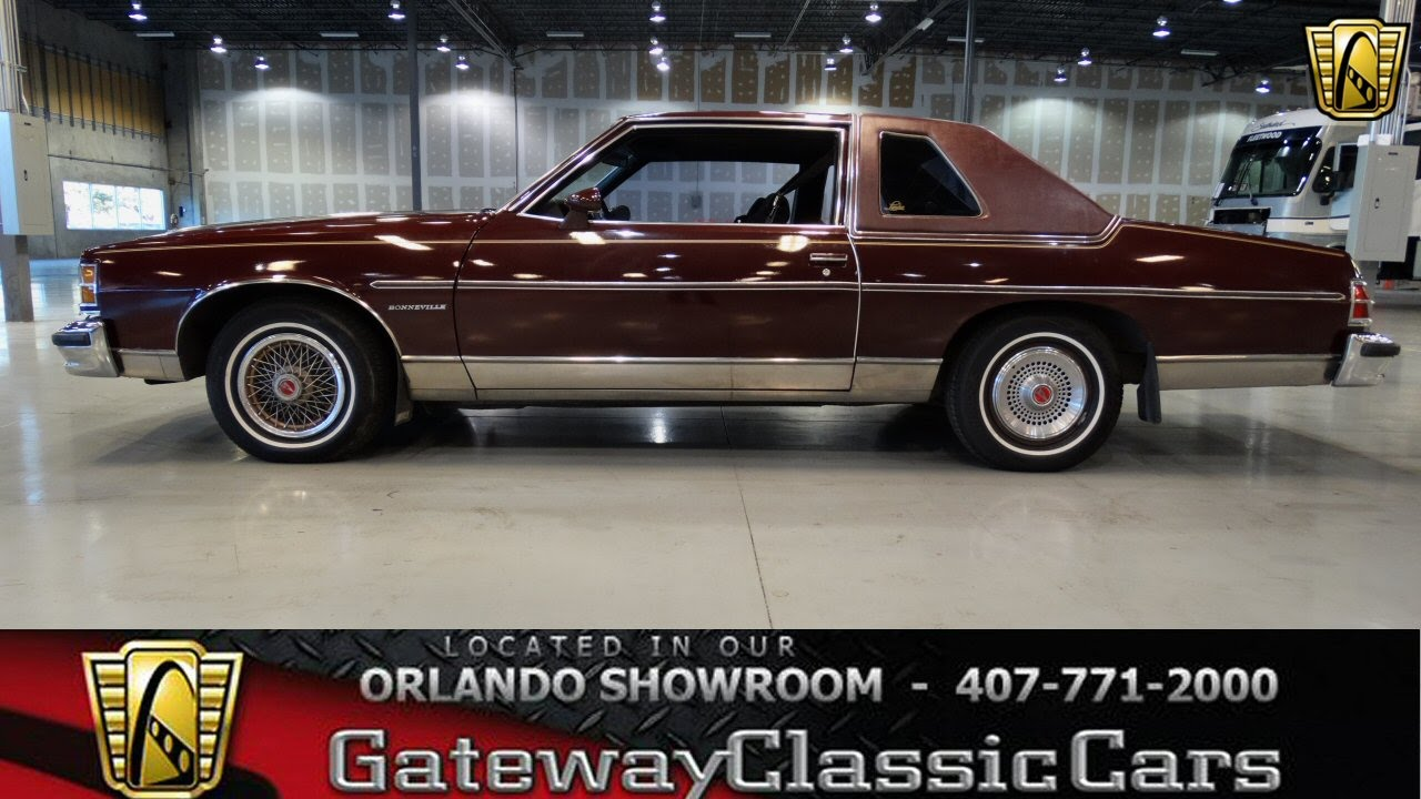 1978 pontiac bonneville stock 104 orlando showroom. Black Bedroom Furniture Sets. Home Design Ideas