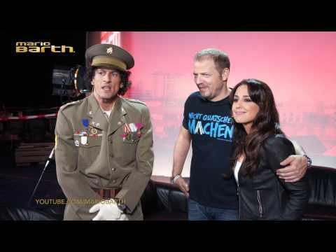 Mario trifft El Commandante und Nina Moghaddam /// WILLKOMMEN BEI MARIO BARTH