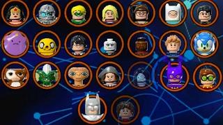 Video LEGO Dimensions - All Characters (Wave 1 - 7.5 - All Spotlights) download MP3, 3GP, MP4, WEBM, AVI, FLV November 2018