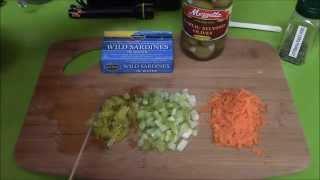 How To Make Sardine Dip With Veggies