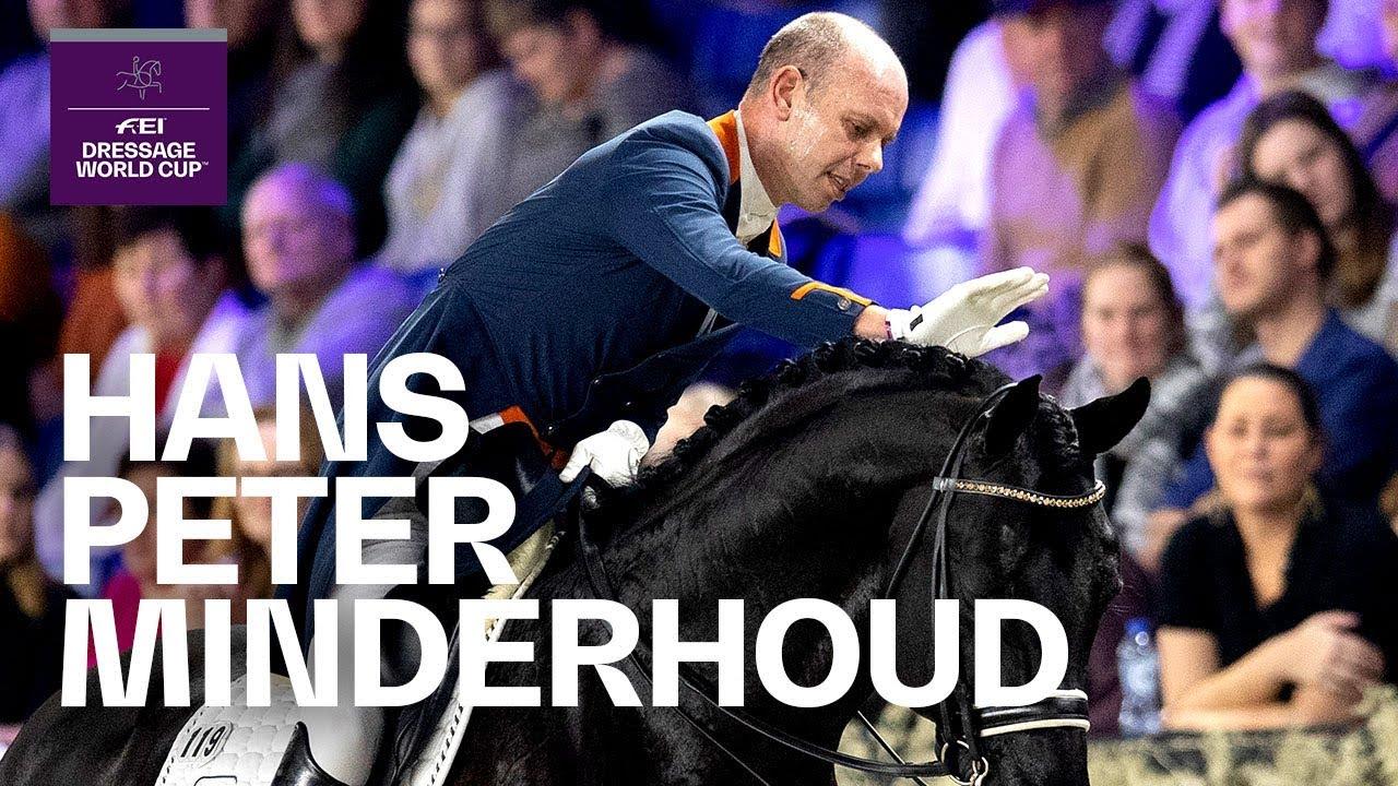 Hans Peter Minderhoud et Glock's Dream Boy renoncent à la Finale des Championnats d'Europe