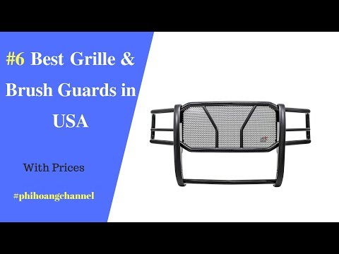 Top 6 Best Grille and Brush Guards in USA – Best Car Care Products 2018.