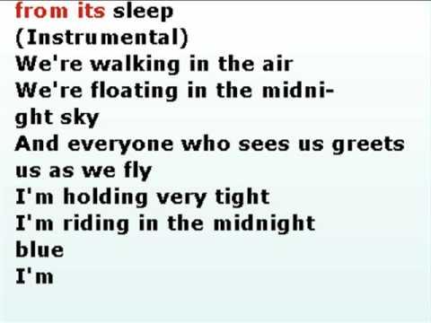 walking in the air nightwish karaoke