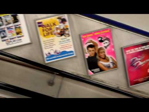 Broadway musical posters, London Tube