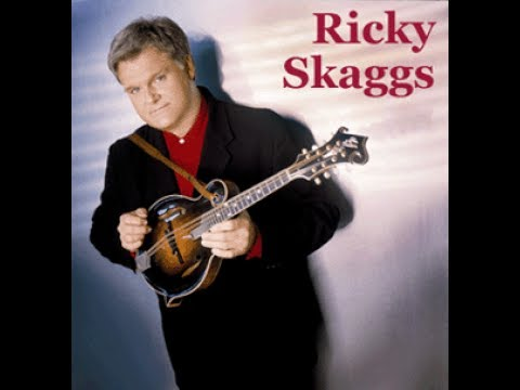 Ricky Skaggs - Crying My Heart Out Over You (Lyrics on screen)