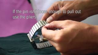How to adjust your watch strap - Tokyoflash Japan