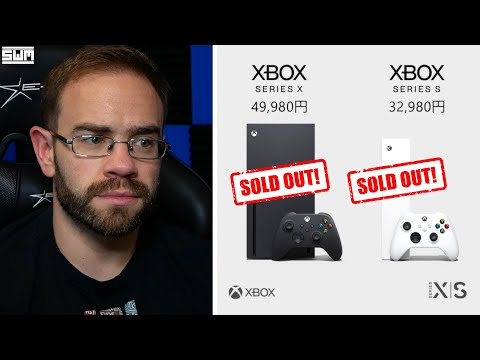 So The Xbox Series S/X Sold Out In Japan...