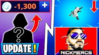 *NEW* Fortnite Update! | Today's Secret Changes, NickMercs Exposes, BAD Scam!