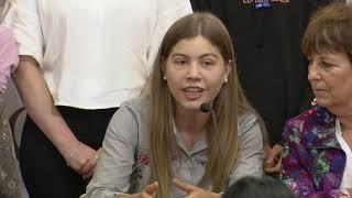 Niños y adolescentes del INAU celebraron ley que ratifica su participación efectiva