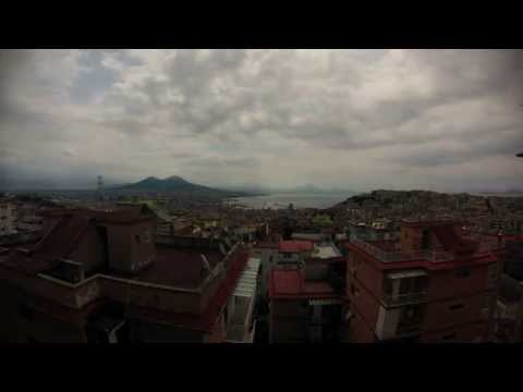 Napoli - TimeLapse with clouds [GoPro 3  Silver]