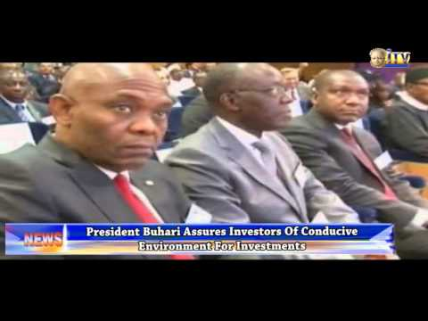 President Buhari assures investors of conducive environment for investments