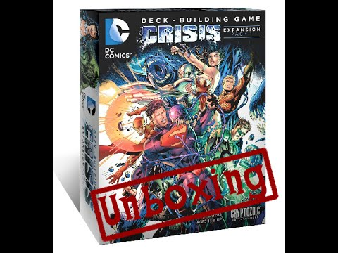 DC Deck-Building Game: Crisis Expansion Pack 4 Gets a ...
