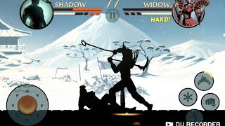 Defeating Widow in Shadow Fight 2 (IN ONE DAY AGAIN)