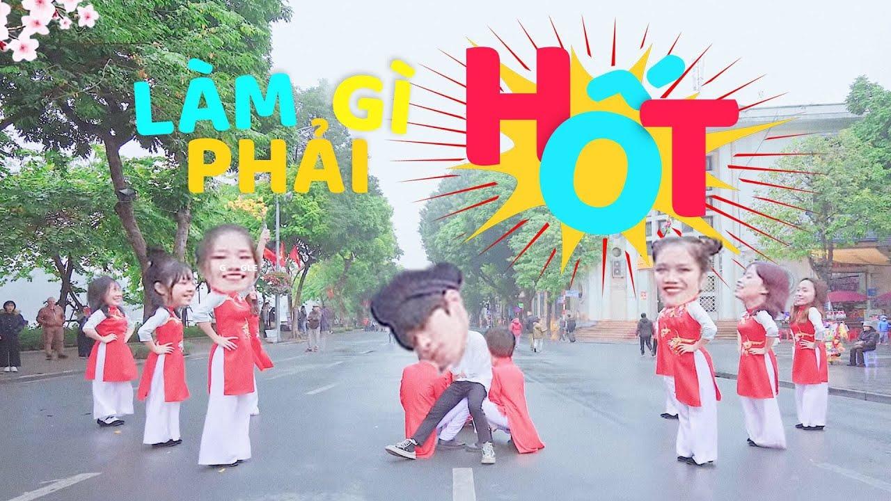 [QUẨY TOANG PHỐ ĐI BỘ] Làm gì phải Hốt - JustaTee, Hoàng Thùy Linh, Đen By B-Wild| Dancing In Public