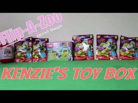 K T B  Blindbags & Kid Tattoos Toy Reviews