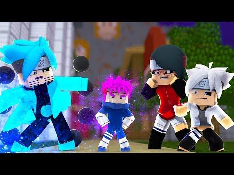 Minecraft: BORUTO - BORUTO DESCOBRIU O NOVO FILHO! #128