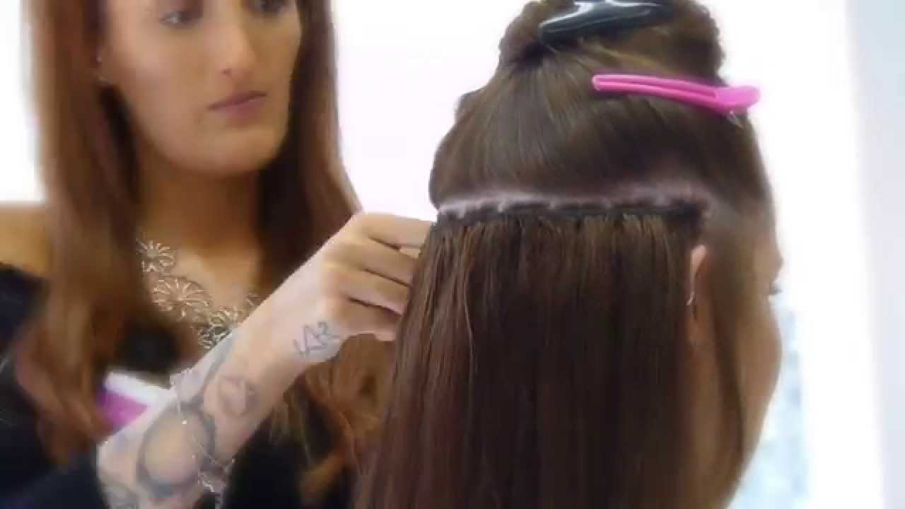 La Weave Using Foxy Hair Extensions Indian Remy Hair Youtube