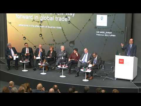 Plurilaterals, the new way forward in global trade?