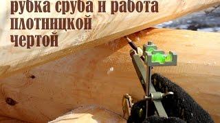 видео Рубка в чашу: сруб своими руками, технология