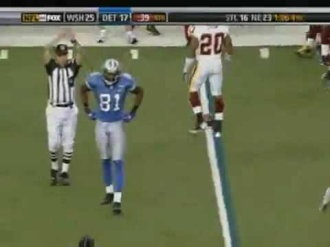London Fletcher hits Calvin Johnson.avi