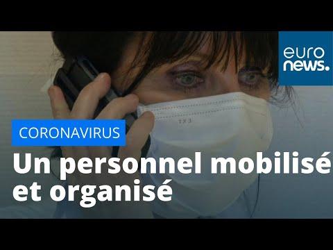 Coronavirus: les hôpitaux français se préparent à accueillir plus de patients