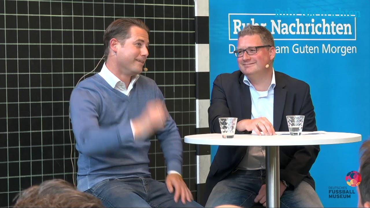 RN-Volltreffer: Lars Ricken zu Gast im Fußballmuseum