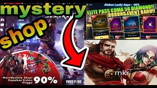 NEW MYSTERY SHOP, IN FREE FIRE||UPCOMING MYSTERY SHOP IN FREE FIRE||MYSTERY SHOP COMING SOON|| 90