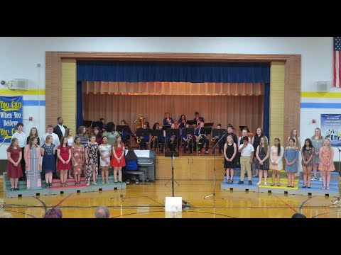 Glenview Middle School - Chorus & 8th Grade Jazz Band, American Bandstand Concert