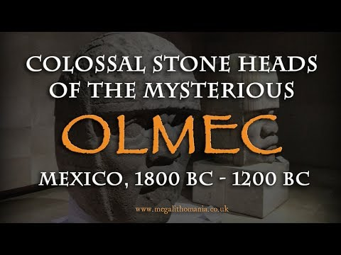 Colossal Stone Heads of the Mysterious OLMEC - Mexico, 1800 BC - 1200 BC