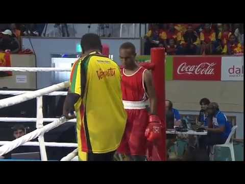 Pacific Games  2015   D14 BOXING 1