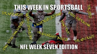 This Week in Sportsball: NFL Week Seven Edition (2020)