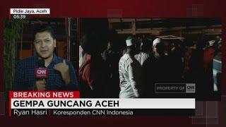 Gempa Susulan Masih Terjadi, Warga Pidie Berhamburan Keluar - Live Report