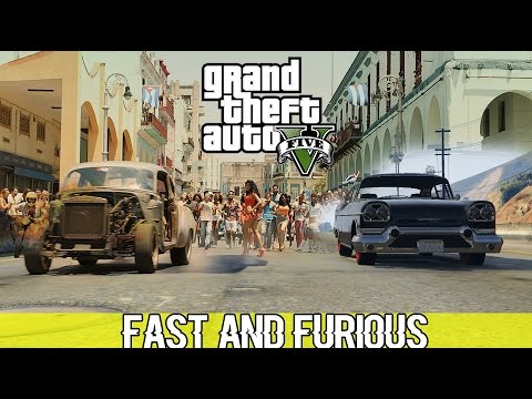 Fast and Furious Scenes Remade in Gta 5!