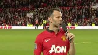 "Райан Гиггз провел свой последний матч на  стадионе клуба ""Олд Траффорд"""