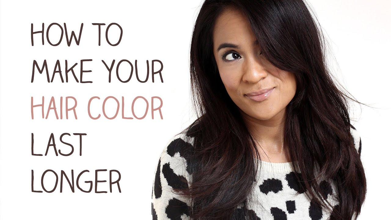 How To Make Your Hair Color Last Longer - Youtube-7647