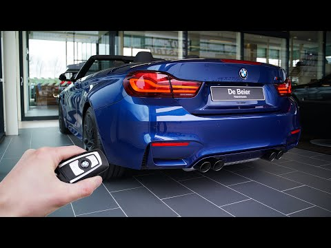 2020 BMW M4 Competition Cabriolet (451 hp) - Sound & Visual Review!