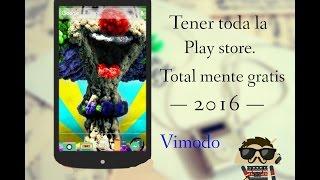 Cono tener la play store total mente gratis....!!2016
