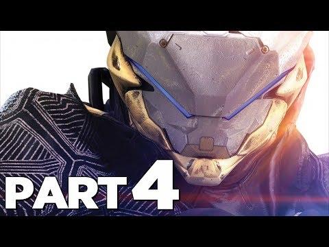 ANTHEM Walkthrough Gameplay Part 4 - THE DARK (Anthem Game)