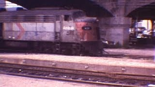 1978 Amtrak Broadway Limited on Horseshoe Curve