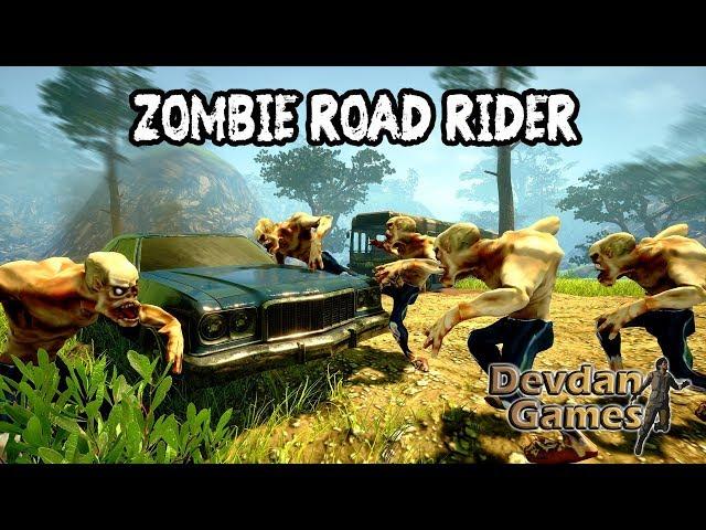 ZOMBIE ROAD RIDER Gameplay