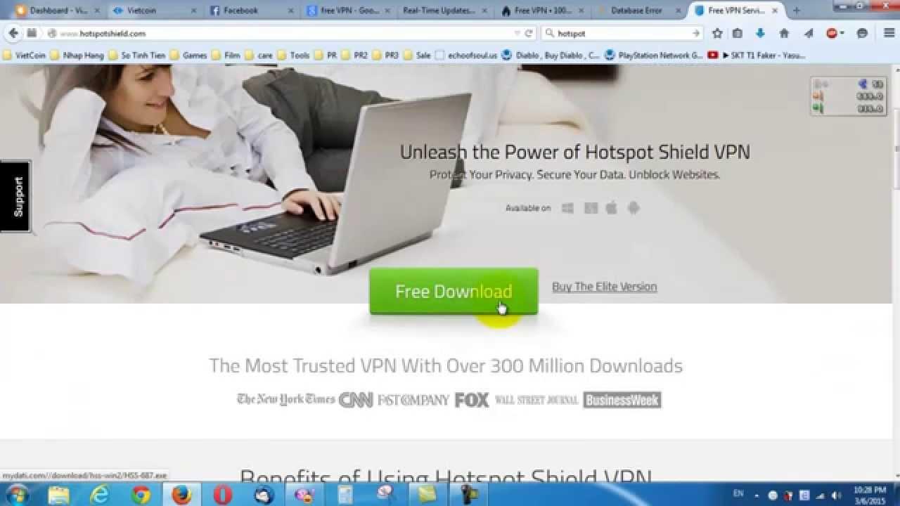 Cách cài đặt Free VPN – miễn phí trên window 7 – VNP free – US – UK – GE – CA