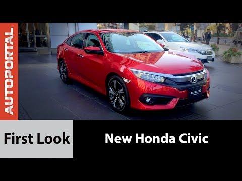 New Honda Civic First Look - Autoportal