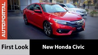 New Honda Civic First Look - Autoportal