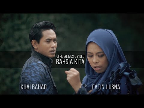 Khai Bahar & Fatin Husna - Rahsia Kita ( Official Music Video with lyric )