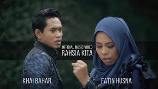 Khai Bahar & Fatin Husna - Rahsia Kita ( Official Music Video with lyric ) MP3