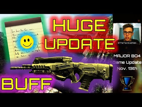 Swordfish Buff! | GREAT NEWS for BO4 Competitive | Weapon Balance Patch Notes Black Ops 4 Nov 13th