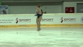 2 Zara PASFIELD (AUS) - ISU JGP Austria 2011 Junior Ladies Free Skating