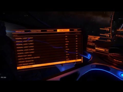 Attacking a Federal Capital Ship