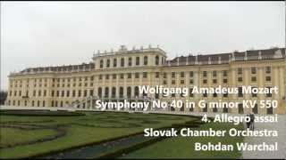 Mozart Symphony No 40 KV 550 4 Allegro assai